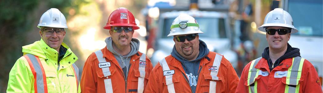 Robert Creek repair workers