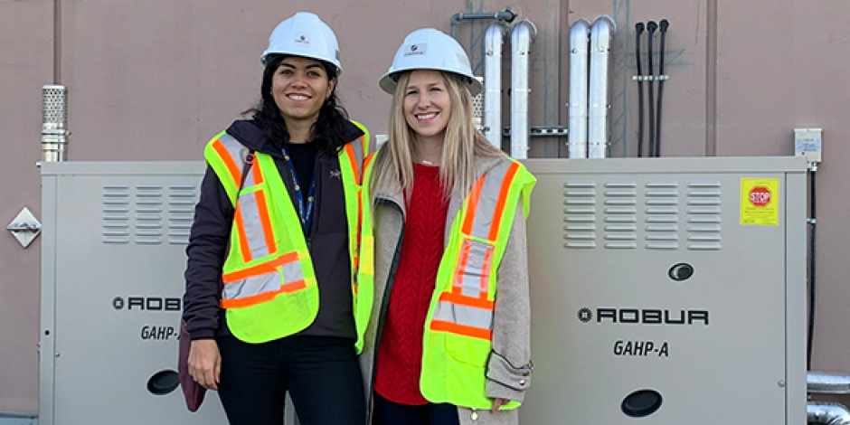 Marysol Escamilla (left) and Mila Barbour (right) are two FortisBC team members