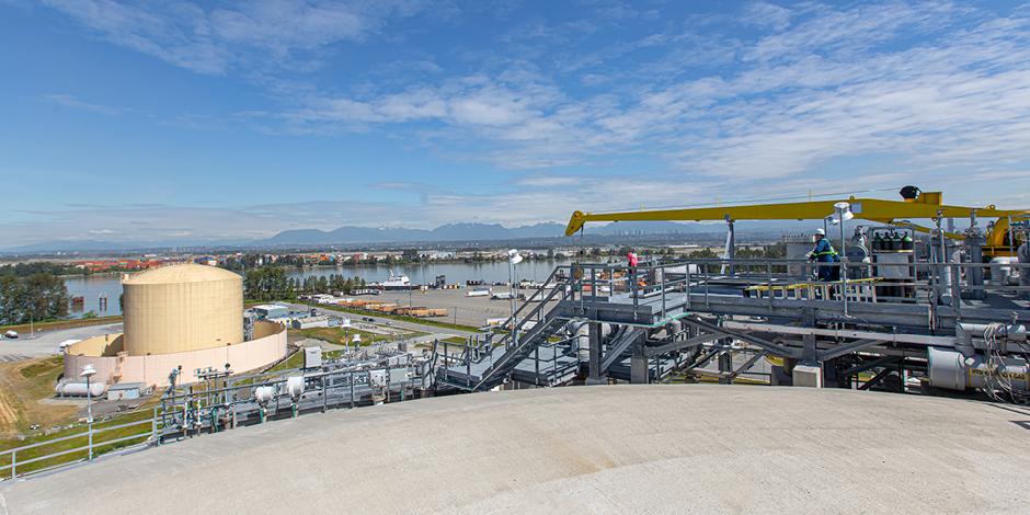 Tilbury LNG facility